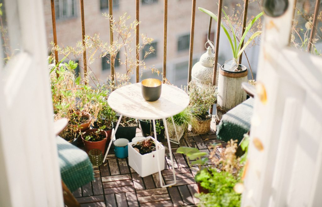 Urban gardening on your balcony